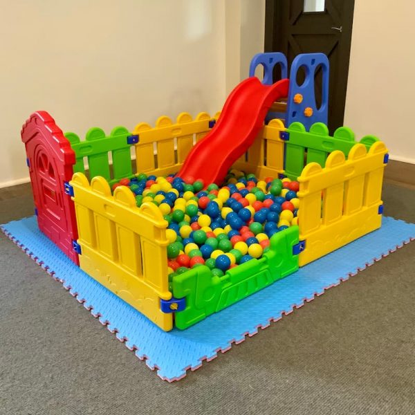 Ball Pit for Kids Party Hire with Slide