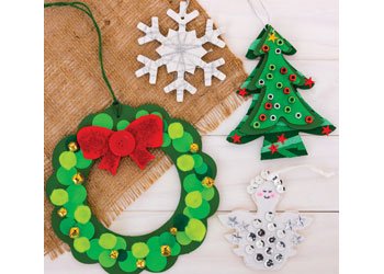 Christmas Ornaments that have been Decorated