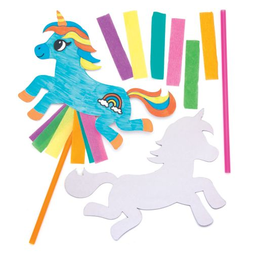 Unicorn Magic Wand that has been Decorated for Kids Parties