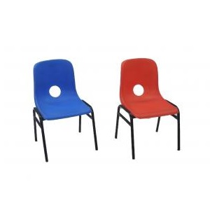 Kids Red and Blue Chairs for Kids Party Hire